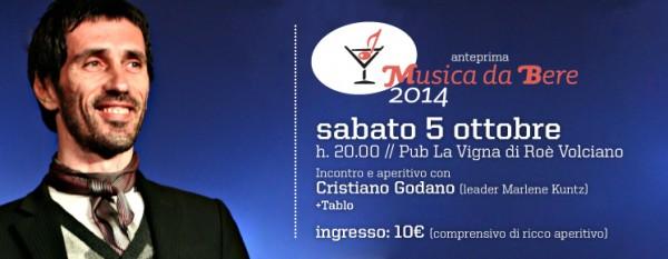 Cristiano Godano ad Aspettando MdB 2014