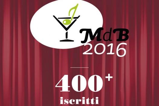 400+ iscritti a MdB 2016