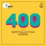400 iscritti alla 8ª edizione