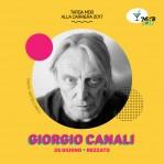 Giorgio Canali – Targa alla Carriera MdB 2017