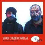 Ruben e Zagor Camillas, presentatori di Musica da Bere